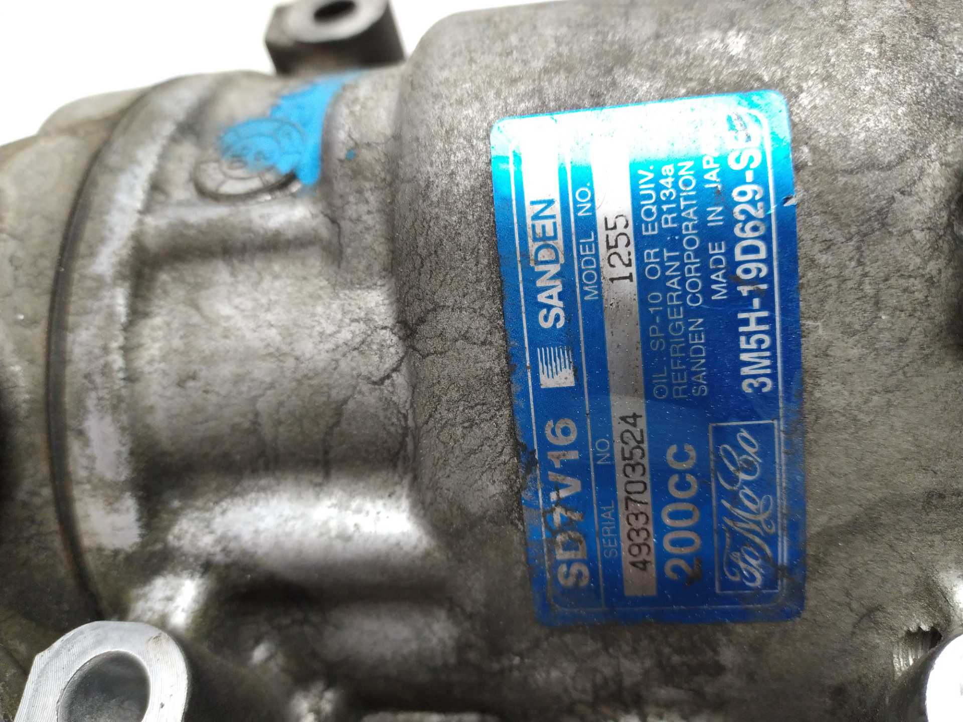 COMPRESOR AIRE ACOND. FORD FOCUS II Turnier 1.6 TDCi (80 KW / 109 CV) (07.2004 - 09.2012)