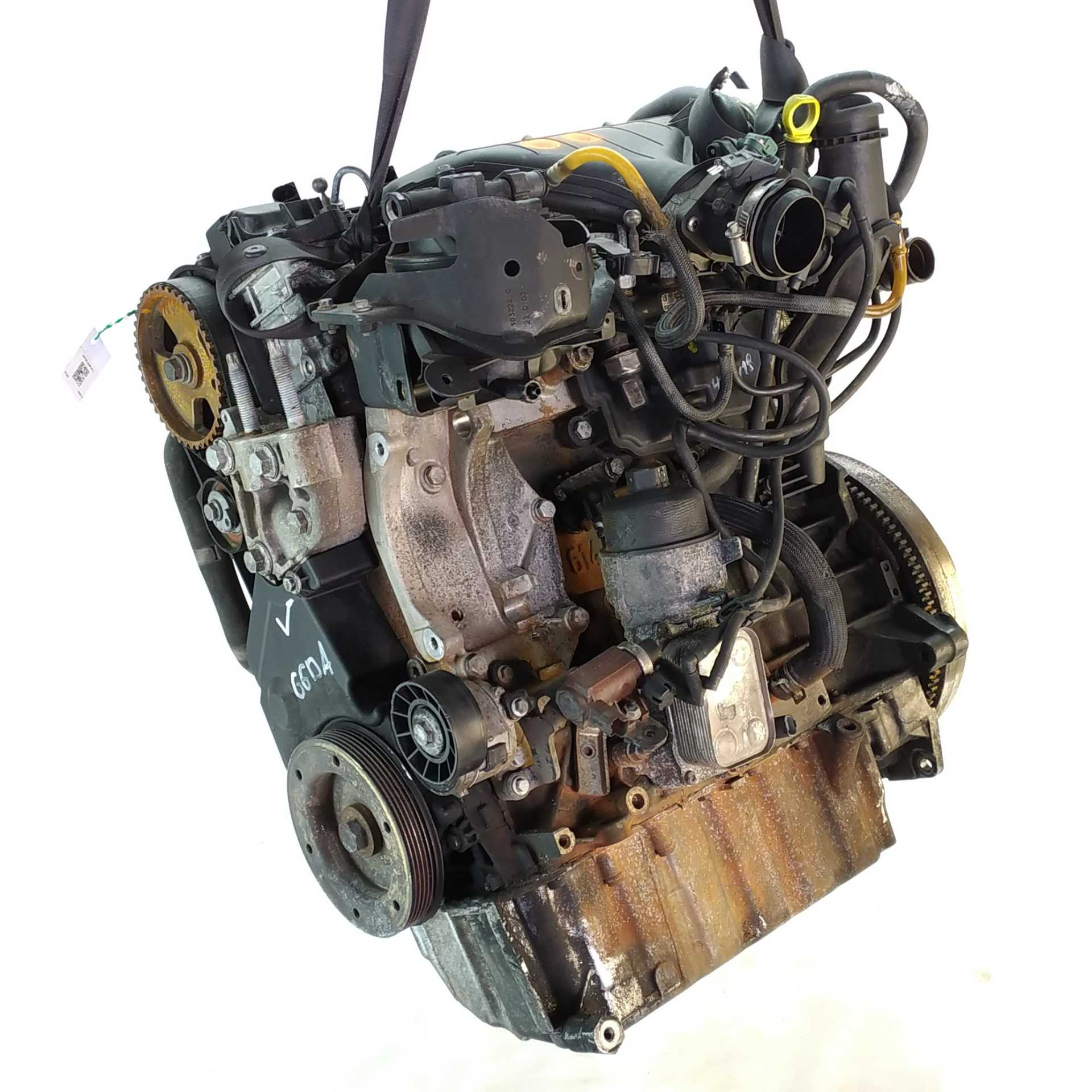MOTOR COMPLETO FORD C-MAX 2.0 TDCi (100 KW / 136 CV) (02.2007 - 09.2010)