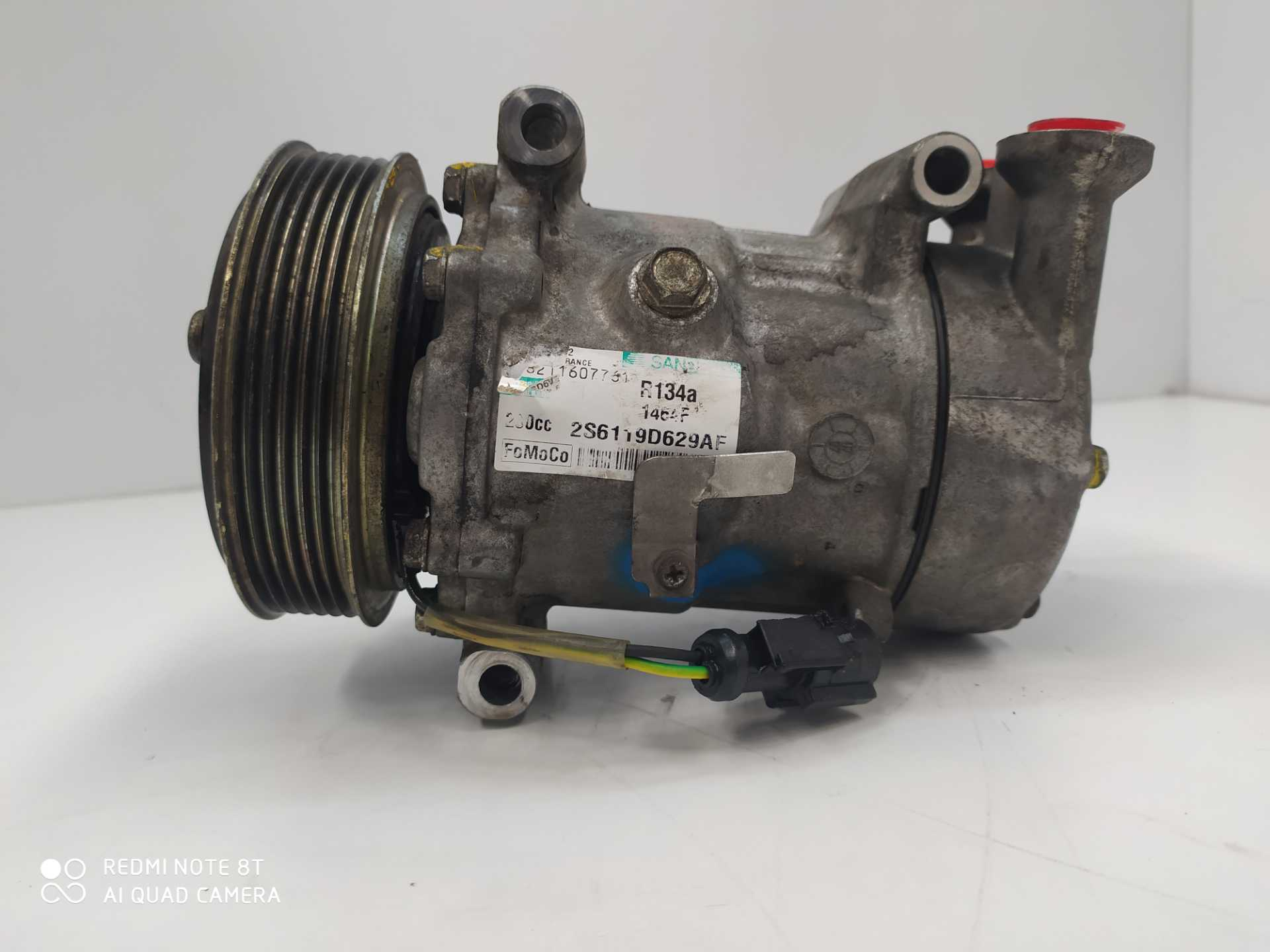 COMPRESOR AIRE ACOND. FORD FIESTA V 1.6 TDCi (66 KW / 90 CV) (11.2004 - 06.2008)