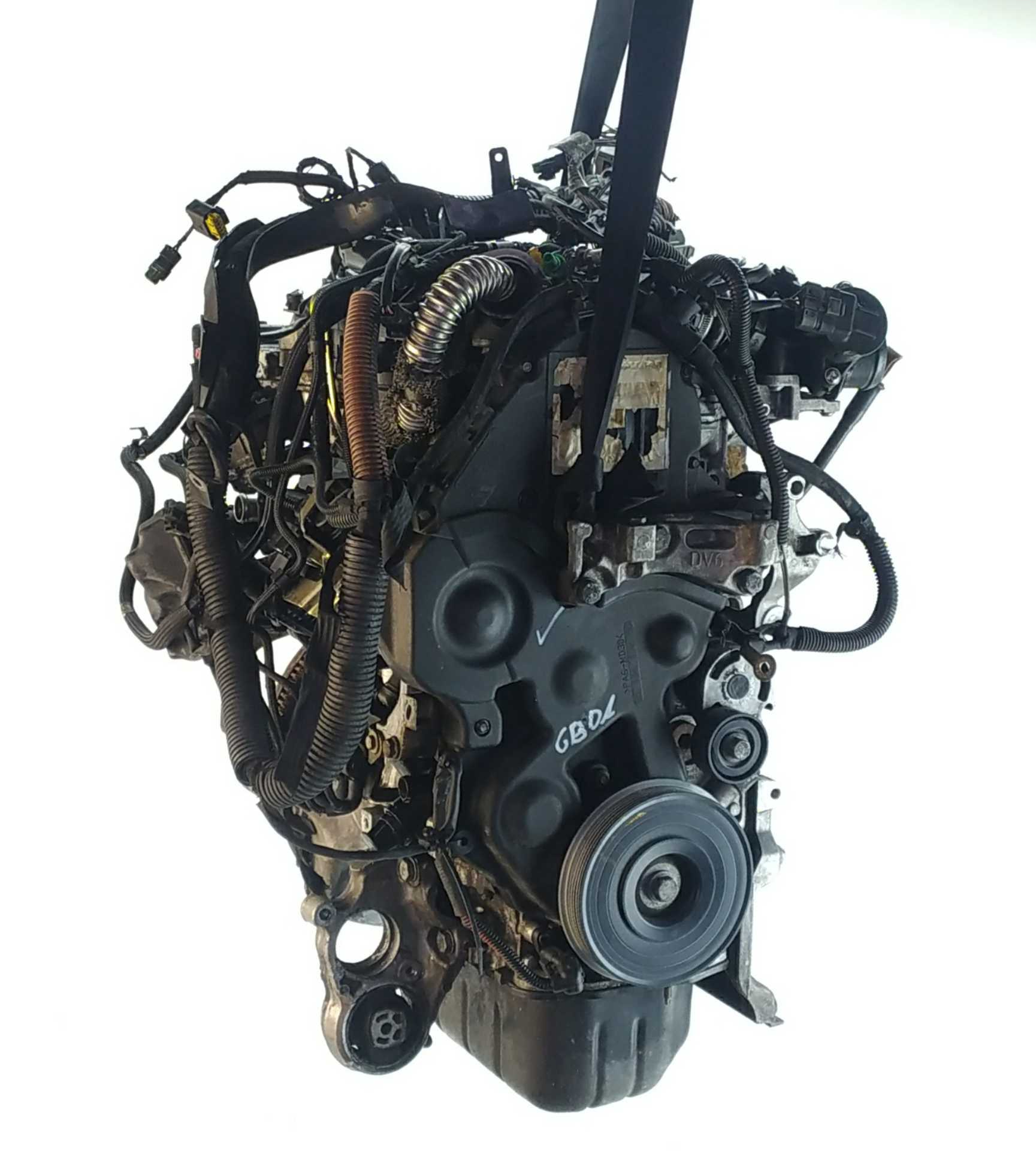 MOTOR COMPLETO FORD C-MAX 1.6 TDCi (80 KW / 109 CV) (02.2007 - 09.2010)