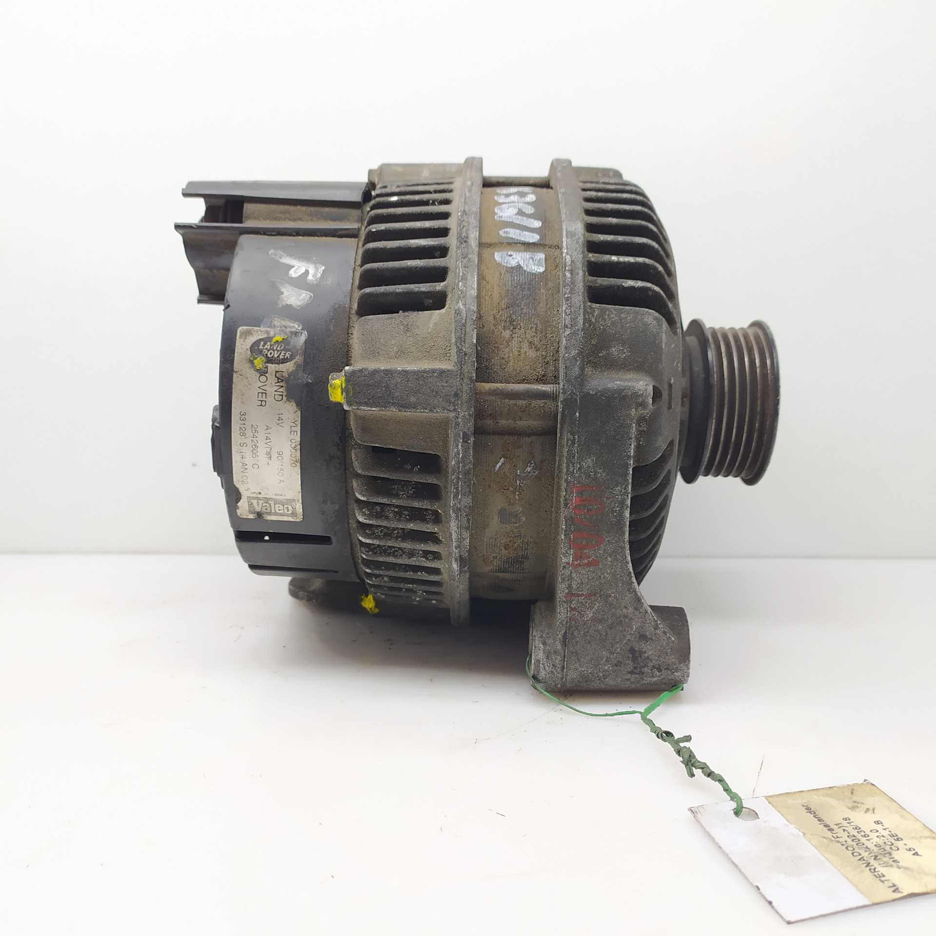 ALTERNADOR LAND ROVER FREELANDER Soft Top 2.0 DI 4x4 (72 KW / 98 CV) (02.1998 - 10.2006)