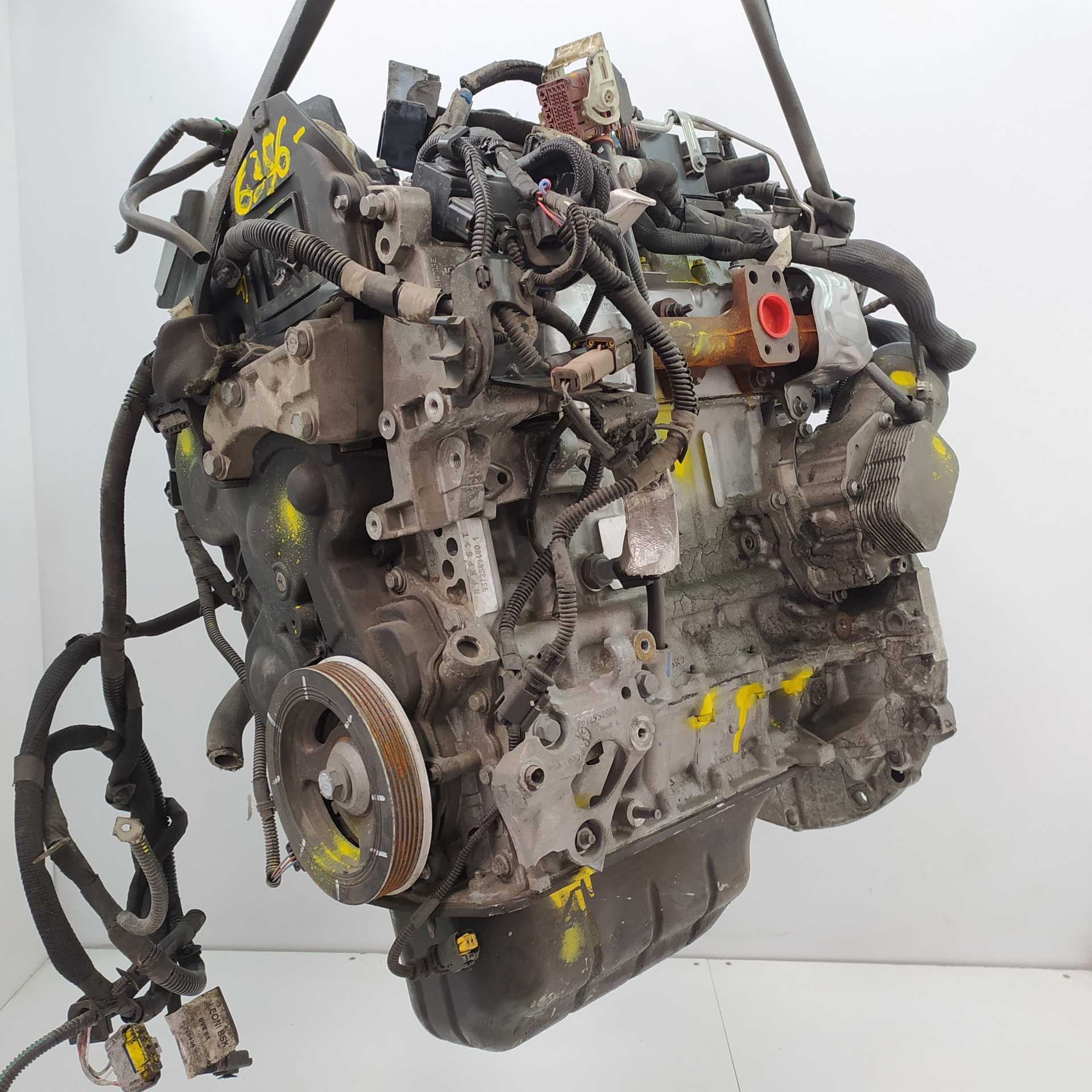 MOTOR COMPLETO PEUGEOT 207/207+ 1.4 HDi (50 KW / 68 CV) (02.2006 - 12.2015)