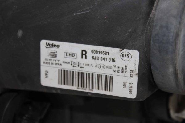 Faro delantero derecho SEAT Toledo IV Hatchback (KG, NH) (07.2012 - ...) 3