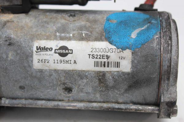Motor de arranque NISSAN Almera Hatchback (N16) (01.2000 - ...) 4