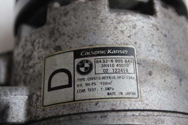 Compresor de aire acondicionado BMW 3 Berlina (E46) (02.1998 - 04.2005) 2