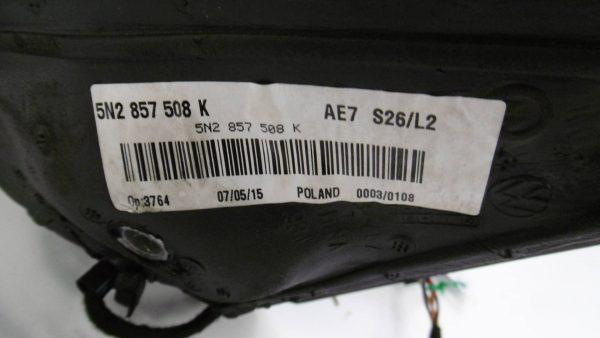 Espejo retrovisor derecho VOLKSWAGEN Tiguan I (5N) (09.2007 - ...) 2