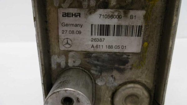 Enfriador de aceite MERCEDES-BENZ Clase C Berlina (W203) (05.2000 - 08.2007) 4