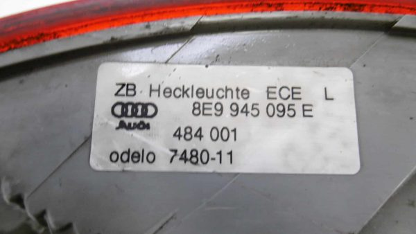 Piloto trasero izquierdo AUDI A4 B7 Berlina (8E) (11.2004 - 06.2008) 3