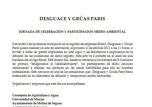 JORNADA DE CELEBRACION Y PARTICIPACION MEDIO AMBIENTAL 1