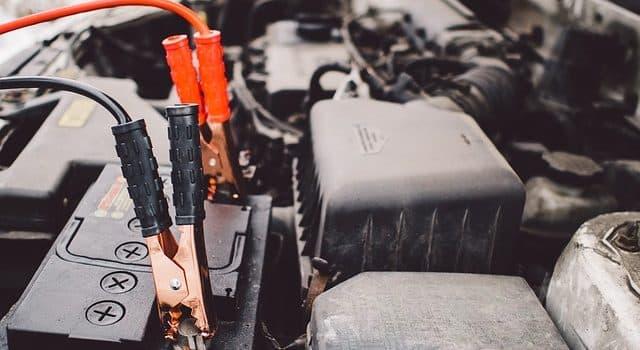 El motor no se enciende, problemas con la batería 1