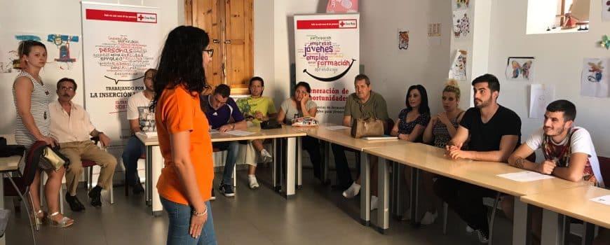Charla informativa Global París en Cruz Roja 1