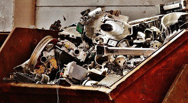 Cómo se recicla la chatarra en un desguace 1
