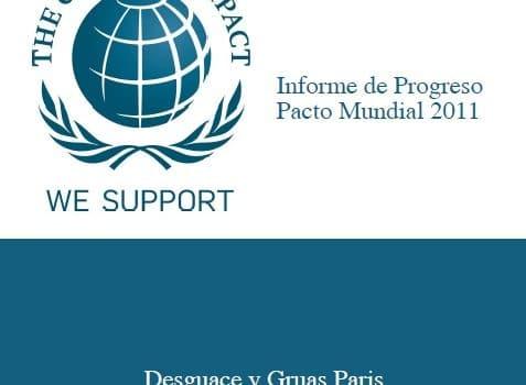 DESGUACE PARIS REALIZA  SU  PRIMERA MEMORIA DE RESPONSABILIDAD SOCIAL 1