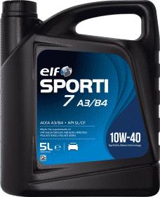 Lubricante ELF Garrafa 5L. Aceite ELF 10W-40 1