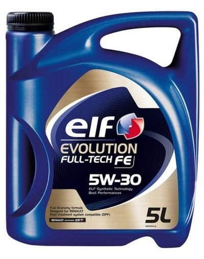 Lubricante ELF Garrafa 5L. Aceite ELF 5W-30 1