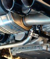 Bajos de un coche, catalizador