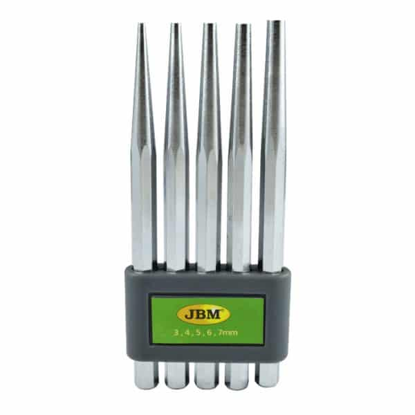 Kit punteros JBM Set de 5 punzones conicos 1