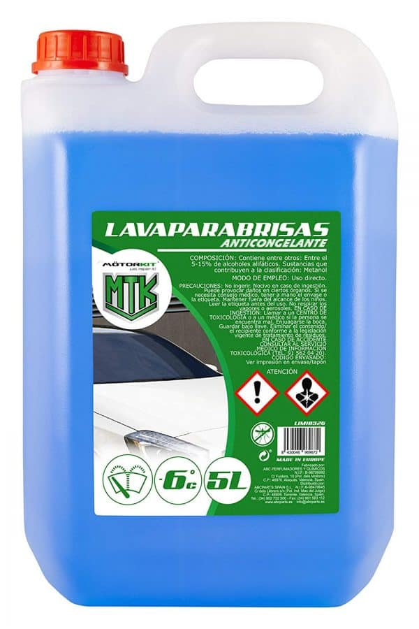 Limpiaparabrisas  Garrafa 5L. Limpiaparabrisas 1