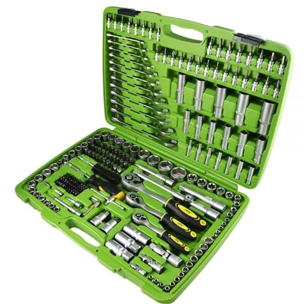 Maletin JBM Estuche de herramientas de 216 piezas con vasos exagonales 1