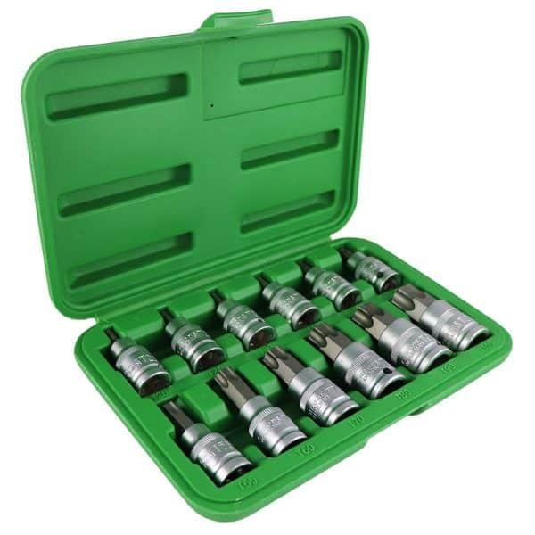 Maletin JBM Set 12 piezas 1/2'' punta torx 1