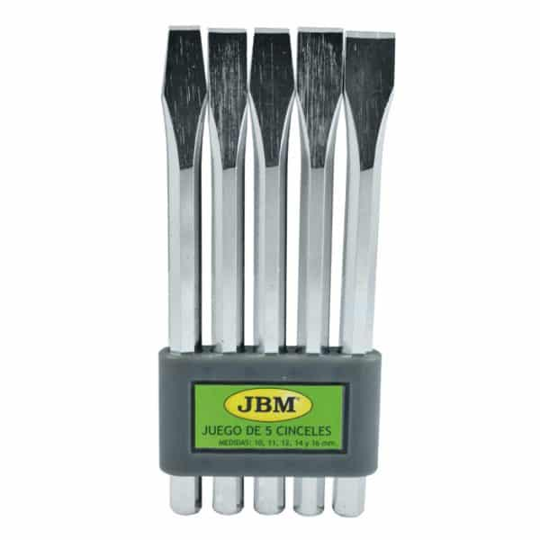 Kit punteros JBM Set de 5 cinceles 1
