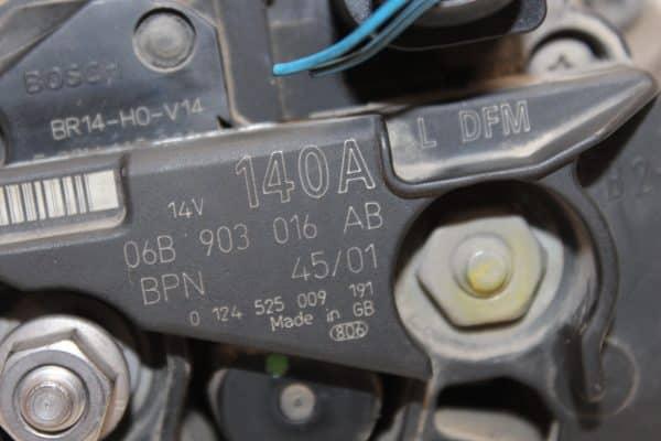 Alternador VOLKSWAGEN Passat B6 Berlina (3C, 3C2) (03.2005 - 11.2010) 3