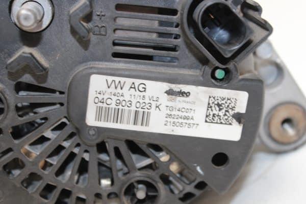 Alternador VOLKSWAGEN Golf VII Hatchback (5G, BE1) (08.2012 - ...) 3