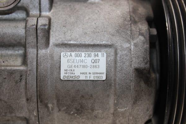 Compresor A/A MERCEDES-BENZ Vaneo (W414) (02.2002 - 07.2005) 4